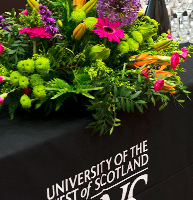 University of the West of Scotland – Annual Event