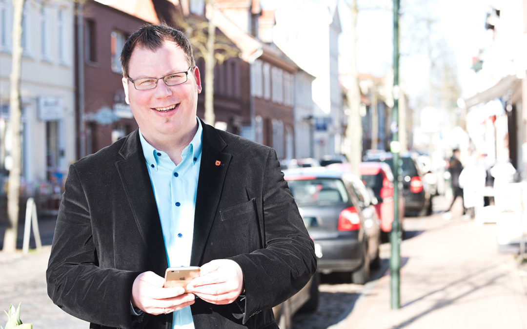 Photographs for Mayor Candidate in Germany