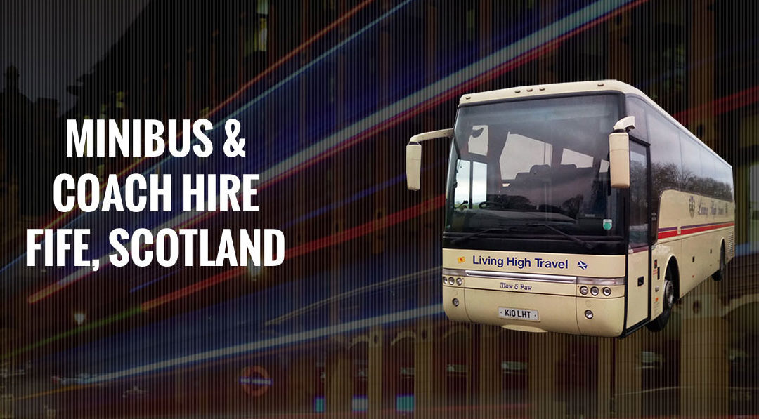 New Website for Coach Hire Company in Fife, Scotland