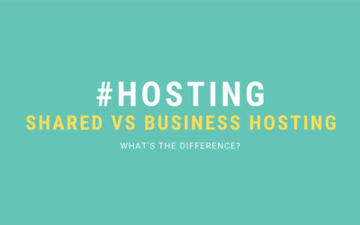 Shared web hosting vs business web hosting – what's the difference?