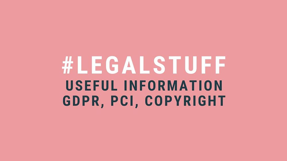 How to keep your website legal