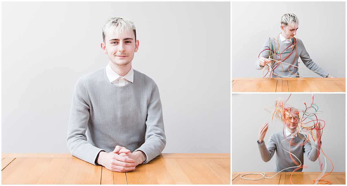 formal business headshots Scotland taken at the office